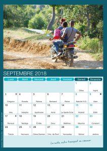 Prestation calendrier Déposé par Éole